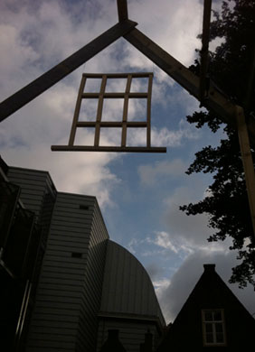 Outdoor Sculpture by Sen McGlinn and Sonja van Kerkhoff, 2012